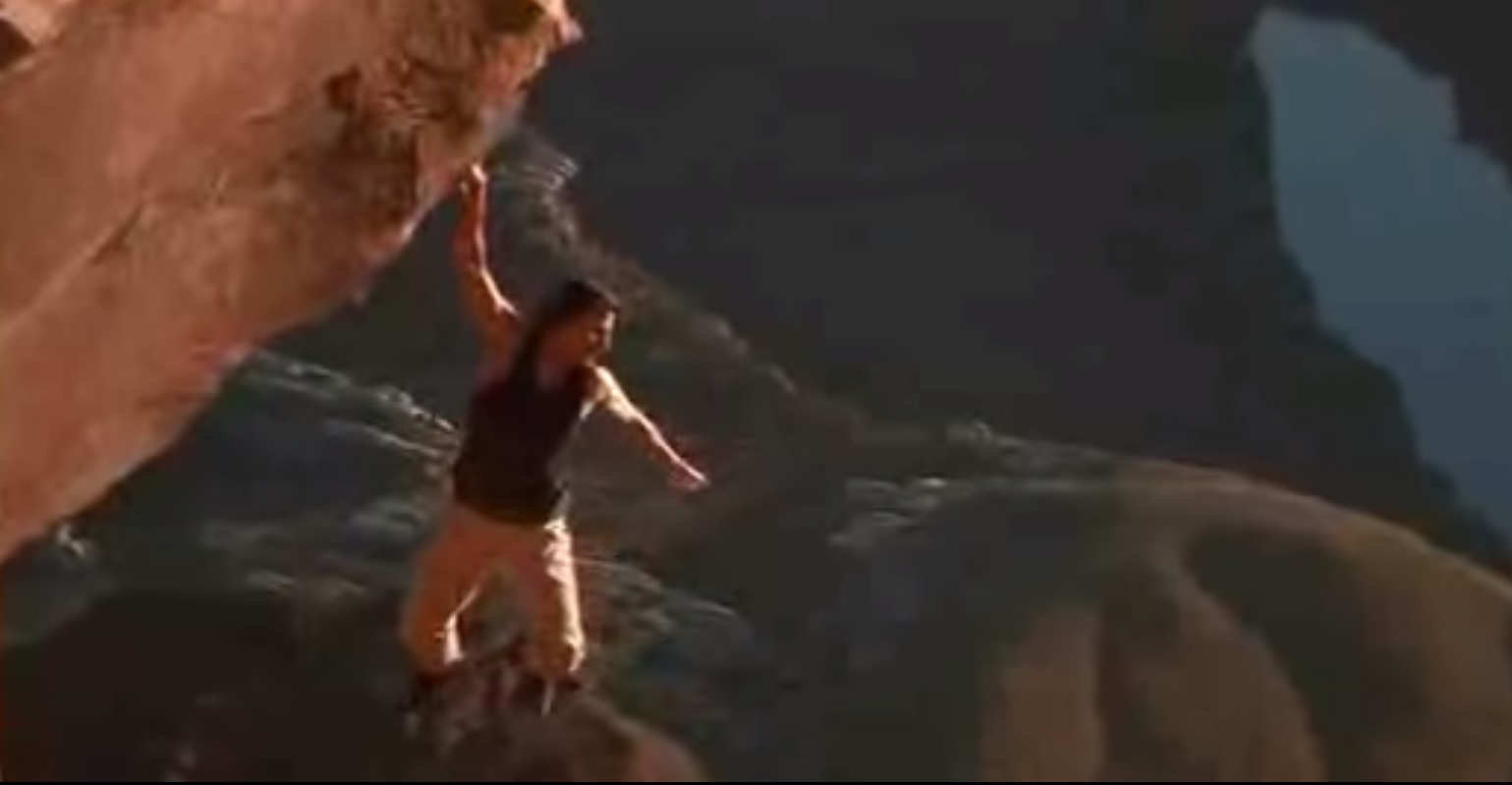 Tom Cruise's Ludicrous Solo Climb From 'Mission Impossible ... Tom Cruise Mission Impossible 2 Rock Climbing