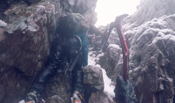 Cold, Wet, And Miserable: Scottish Winter Climbing At Its Finest