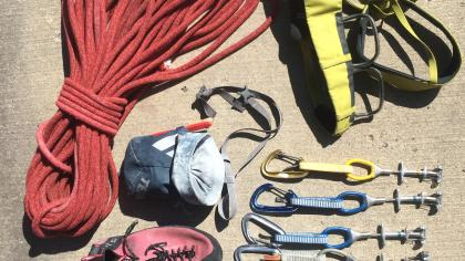 Mason Earle's Gear For Vedauwoo