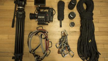 Kyle Berkompas' Film Gear For Hardliners