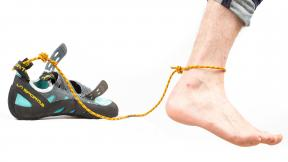 How To Not Lose Your Climbing Shoes