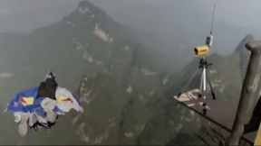 The World Wingsuit League Has A New Format That You Have To See To Believe
