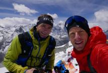 Ueli Steck and David Goettler